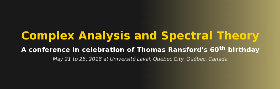 Complex Analysis and Spectral Theory Conference